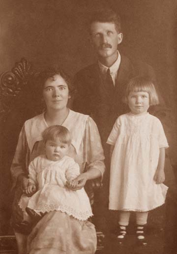 Lionel Monypenny and Family