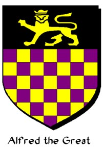Armorial Bearings of Alfred the Great