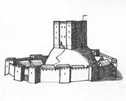 Castle with Curtain Wall
