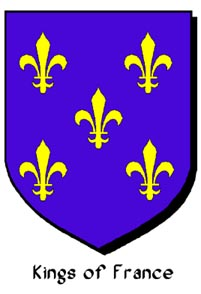 Armorial Bearings of the ancient Kings of France