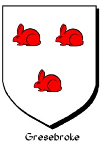 Armorial Bearings of Gresbroke