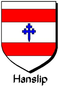 Arms of Hanslip