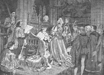 Coronation of James II in 1437