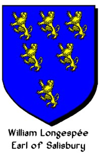 Arms of William Longespee