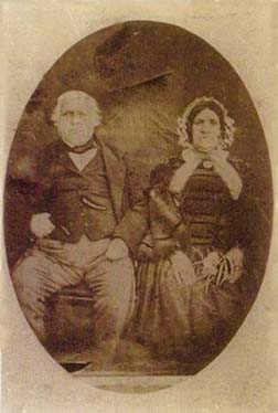 Mark Palmer and Jane Richardson ca. 1865