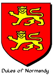 Arms of the Dukes of Normandy