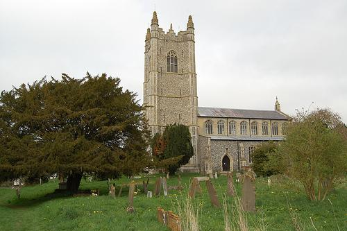 Redenhall Church in Harleston