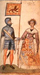 Robert the Bruce and Isobel of Mar