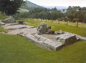Remains of a Roman Fort