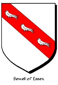 Arms of Sewell of Essex